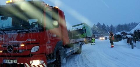 Vinteren er kommet til Vestfold.